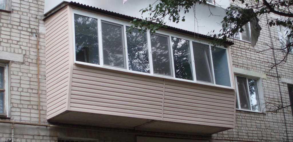 Фото 2 - Расширение балконов, балконы под ключ!