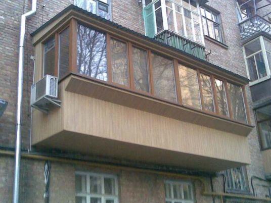 Фото 4 - Расширение балконов, балконы под ключ!
