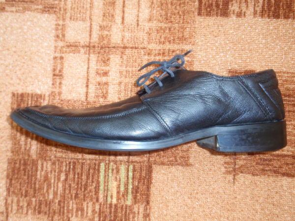 Продам мужские кожаные туфли Fabi