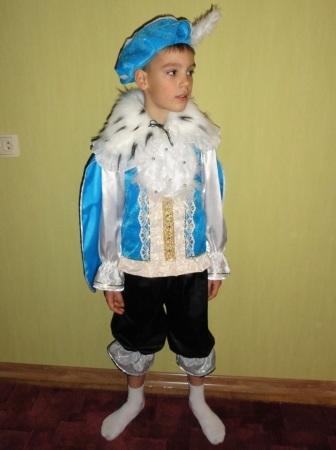 Фото - Карнавальный костюм Принца/Зимнего месяца 6-9 лет