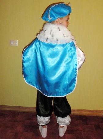 Фото 2 - Карнавальный костюм Принца/Зимнего месяца 6-9 лет