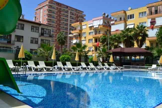 Продам квартиру в Турции, Алания. Прибыль от сдачи в аренду!