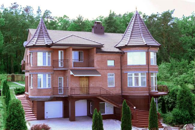 Продажа особняка VIP-класса в Пуще-Водице. Цена снижена вдвое!