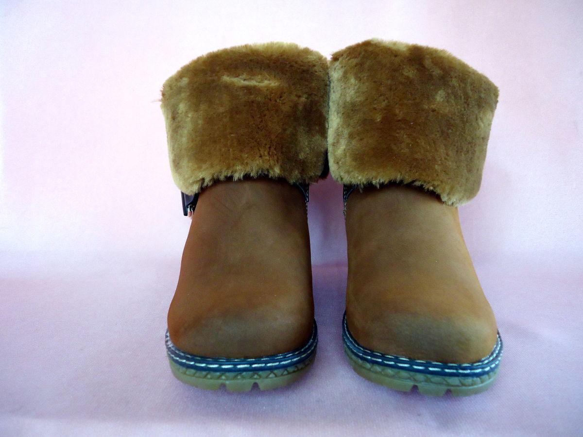 Фото 3 - Зимние, стильные, женские полусапожки. Есть все размеры 36-41.