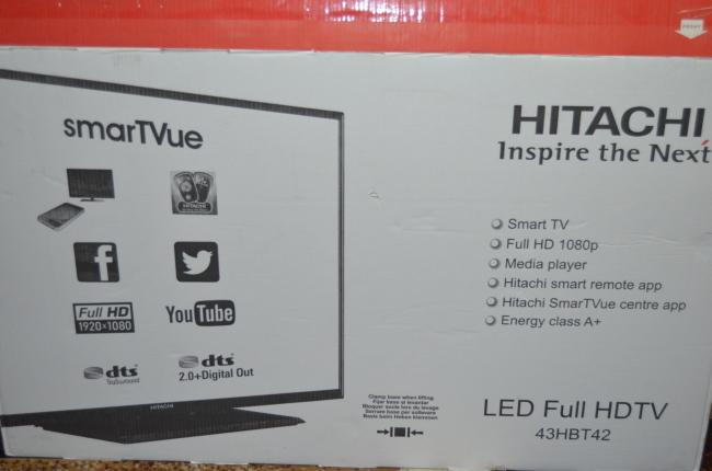Фото 8 - Телевизор HITACHI 43HBT42 LED SMART FullHD!