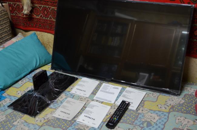 Фото 2 - Телевизор HITACHI 43HBT42 LED SMART FullHD!