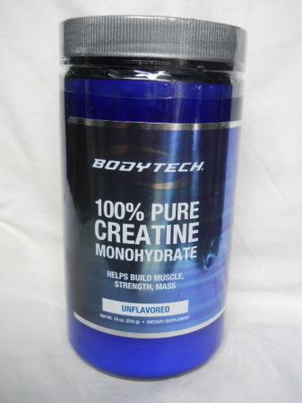 Эффективный креатин Bodytech 100% Pure Creatine Monogidrate 501gram