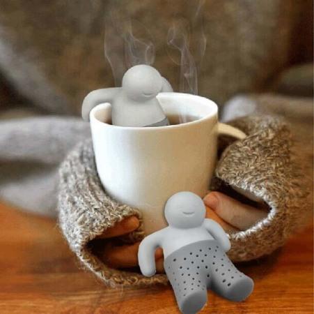 Силиконовый заварник для чая - Mr. Tea. Отличный подарок.