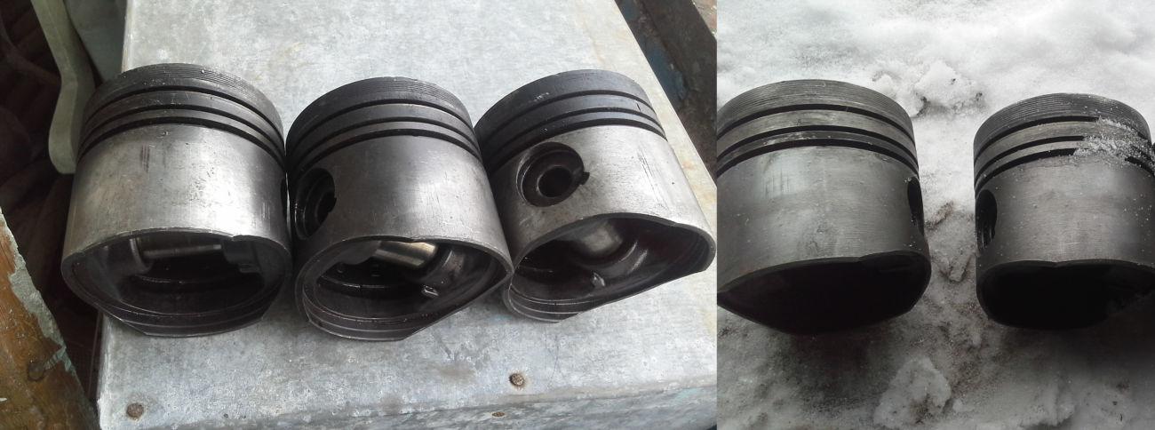 2 Поршня групы А б\у ,клапана впускные на Ford Sierra 1.8TD 90г