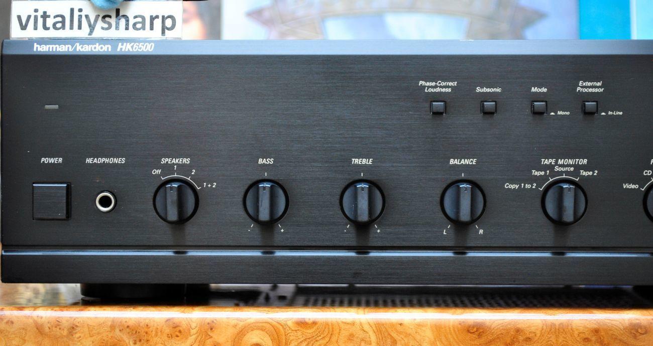 Фото - Hi-End усилитель Harman/Kardon HK6500 (277). И другое аудио!