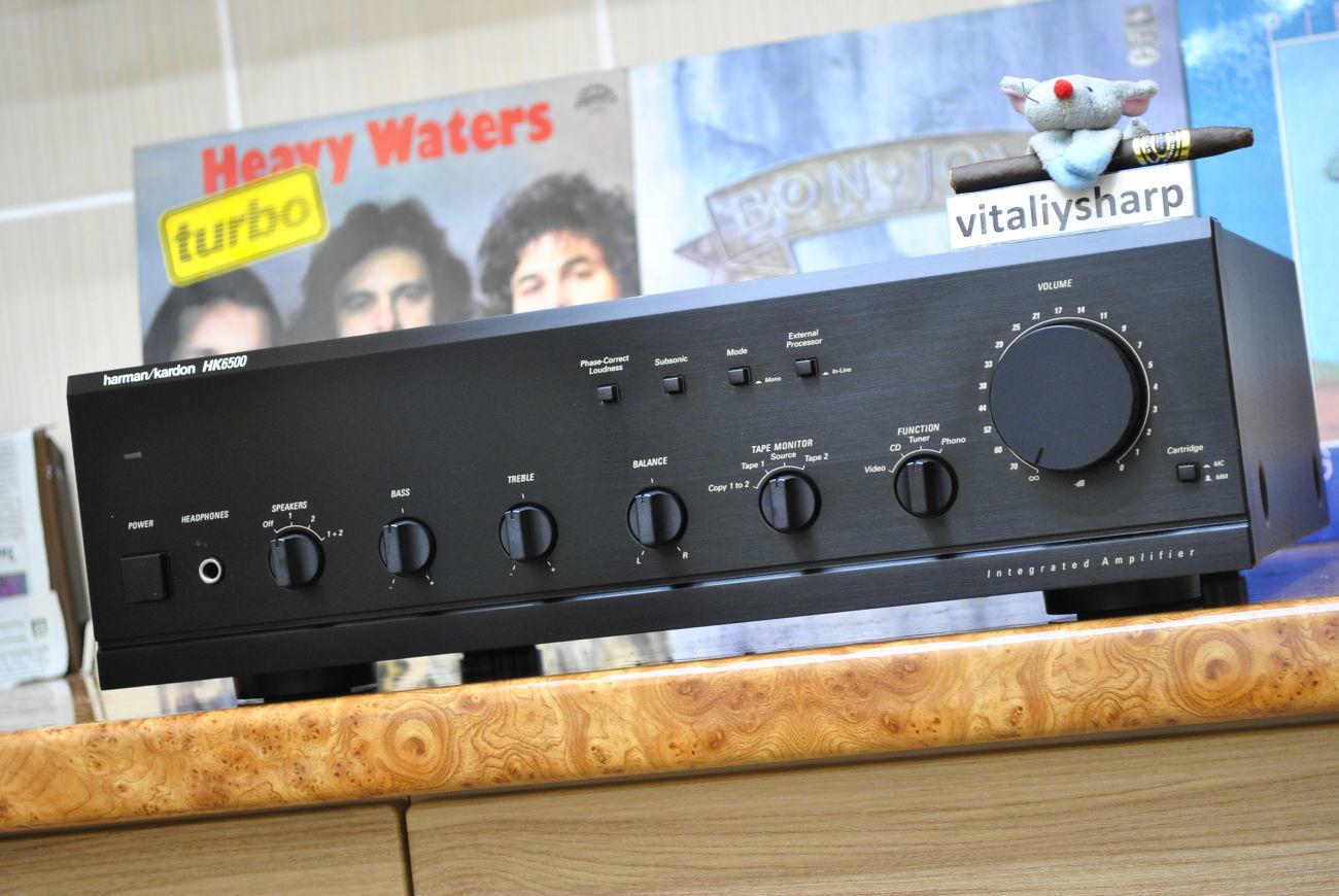 Фото 3 - Hi-End усилитель Harman/Kardon HK6500 (277). И другое аудио!