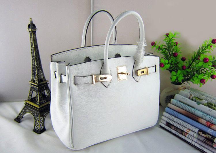 Кожаная сумка Hermes белая  2 485 грн. - Сумки, чемоданы Киев ... 0106ef5d62d