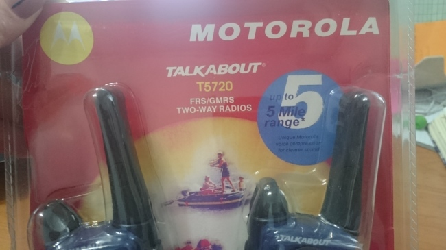 Фото 5 - радиостанция Motorola T5720 (пара)