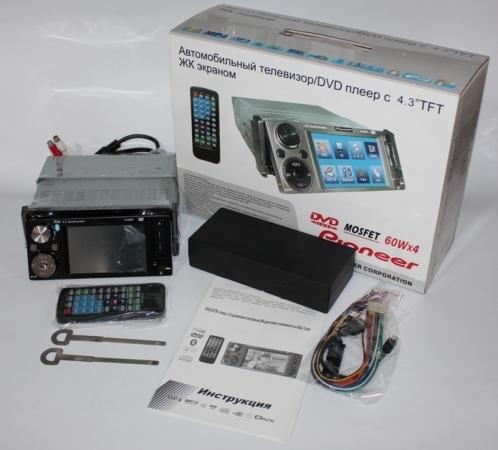 Фото - Продам новую автомагнитолу peoneer модель 1143 с 4,3 дюймовым экраном
