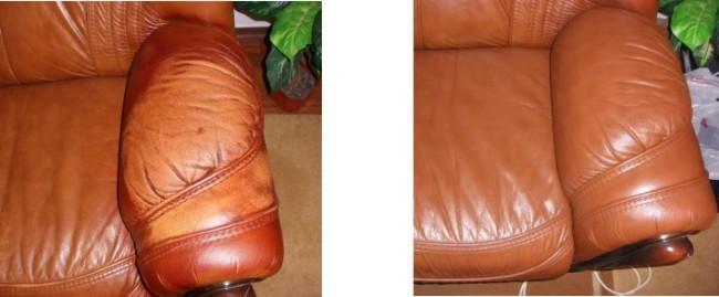 Реставрация покраска кожи, мебель диваны, кресла.