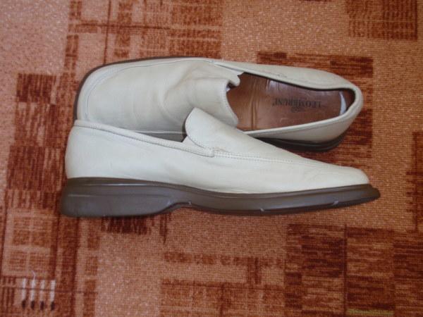 Продам мужские кожаные туфли Leombruni