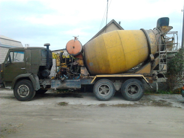 Фото - Услуги миксера, доставка бетона