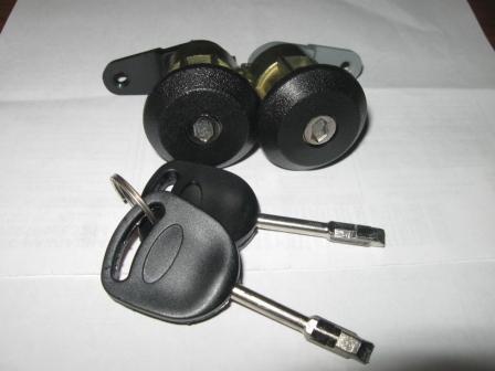 Фото - Замки (личинки, сердцевины) дверей Ford Sierra