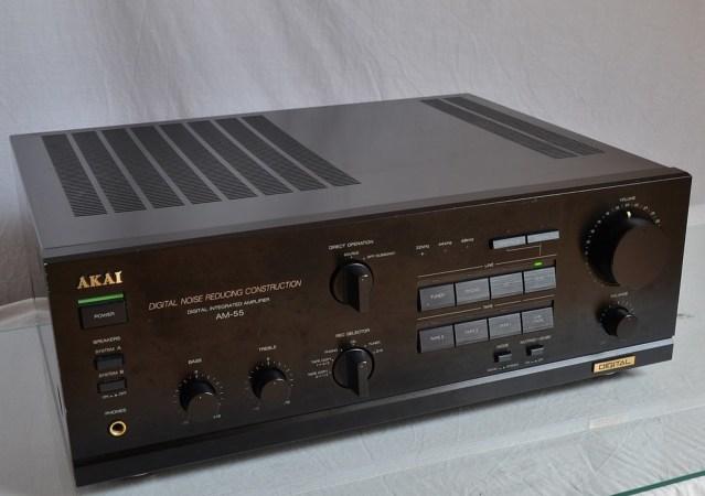 Продам Усилитель Akai Am 55 - Japan