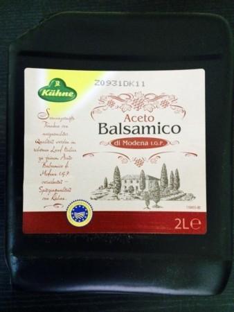 Кюне уксус винный - бальзамический 2л