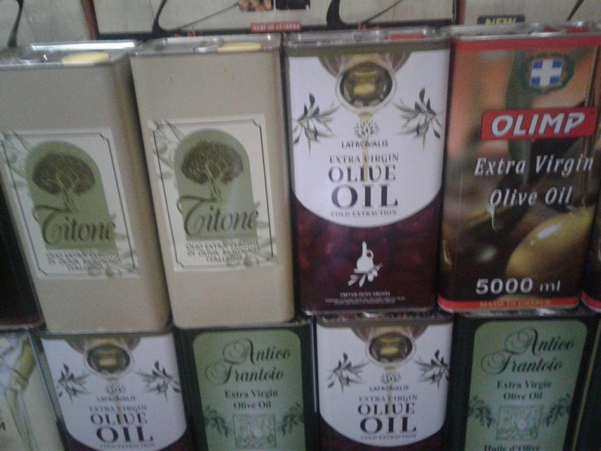 Оливковое масло. 5л..1л..оптом и в розницу.
