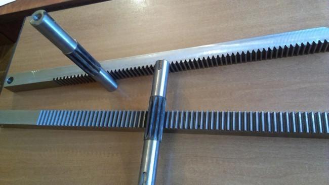 Как сделать рейку для дровокола 13