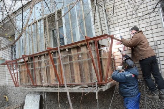 Балконы, решетки, утепление, обшивка. Броневик Днепропетровск