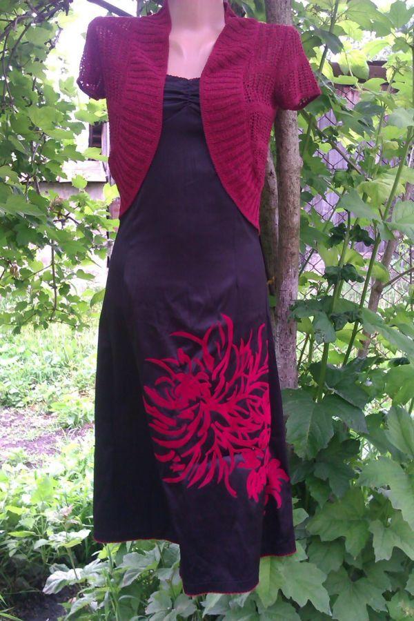 Фото - вечерние платье с болеро