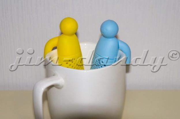 Фото 4 - Ситечко для заваривания чая Человечек