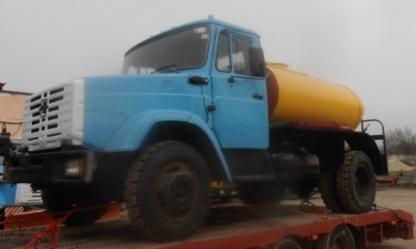 Продаем автогудронатор ДС-39Б,2010 г.в.,ЗИЛ 433362,2000 г.в.