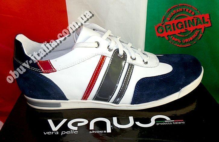 930e24577 Кроссовки кожаные мужские фирмы VENUS оригинал производство Италия ...