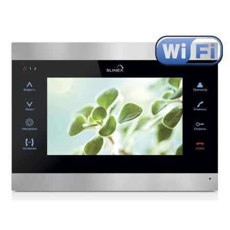 Wi-Fi Видеодомофон Slinex SL-07IP - просмотр удаленно со смартфона!