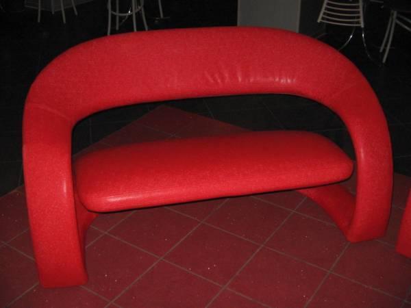 Перетяжка мягкой мебели в ресторане