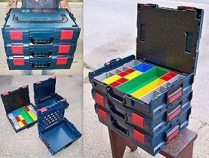 Ящик Bosch L-Boxx для электриков.