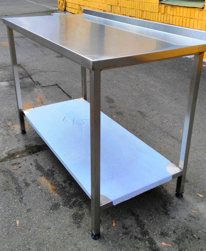 Продам стол из пищевой нержавейки 1500х600х850 для общепита