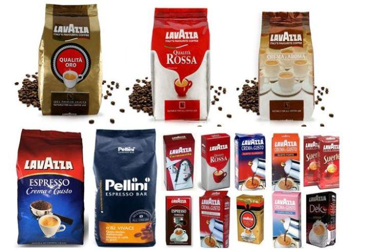 Кофе зерно Lavazza, Pellini. Сам вожу. Италия.