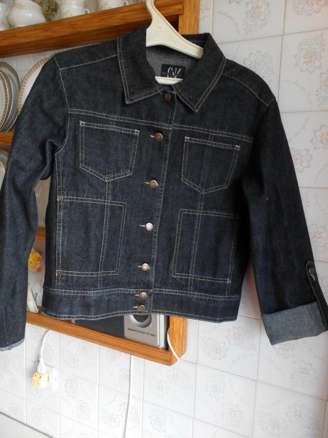 Куртка джинсова нова  185 грн. - Куртки Київ - оголошення на ... 9634ce9a9fcaf