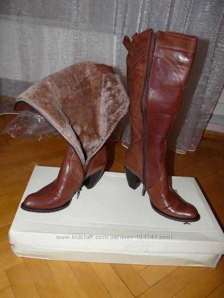 Фото - Сапоги кожаные зимние MarkoPini
