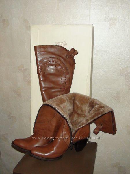 Фото 5 - Сапоги кожаные зимние MarkoPini
