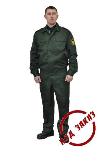 Как сшить костюм охранника