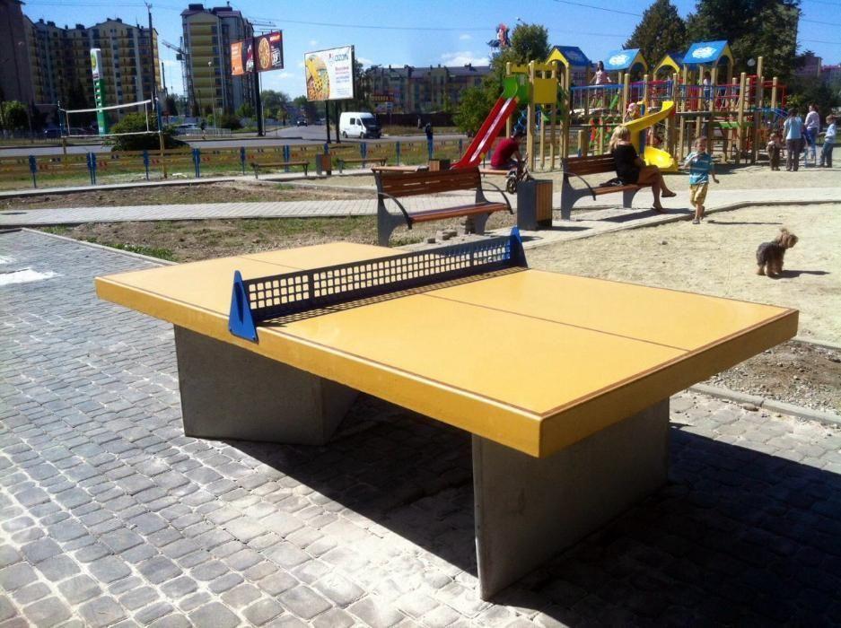 Тенісний стіл вуличний Бетон Прайм в