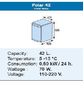 Фото 2 - Мини-бар Polar 42