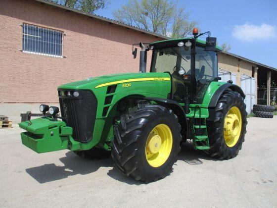 Б/У трактор John Deere 8430