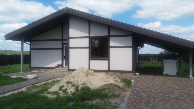 Впервые продам новый дом в Черкасских Тишках, недорого