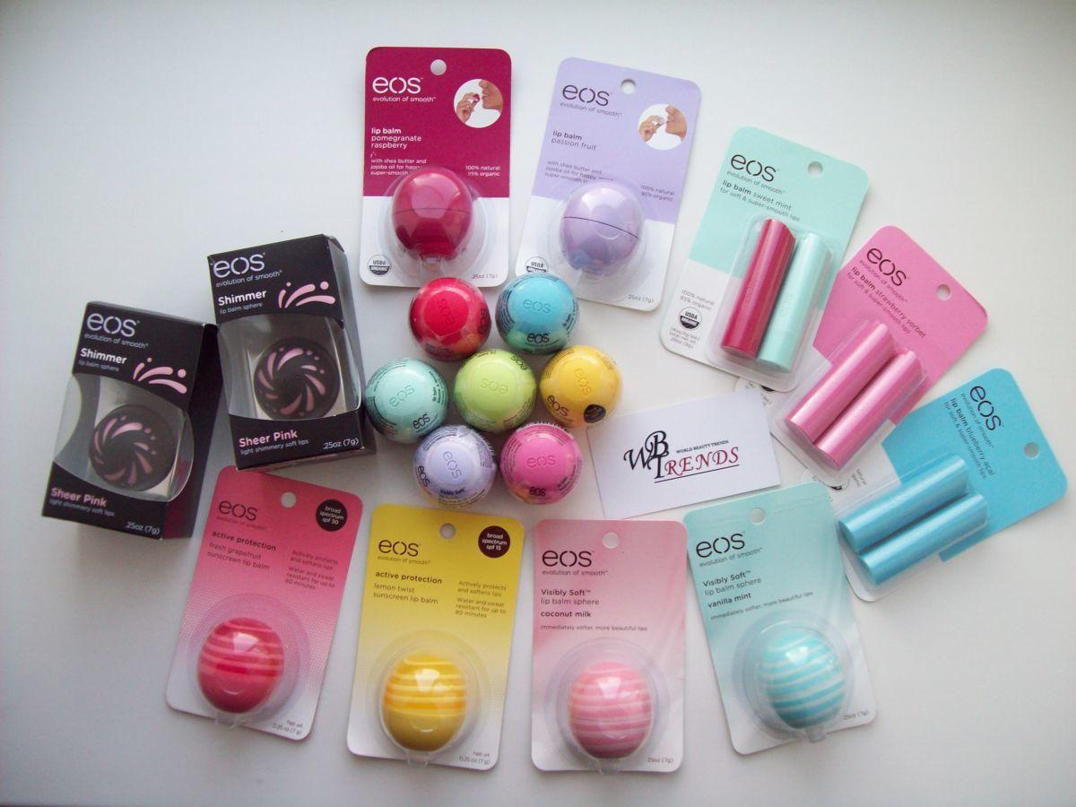 Фото - Бальзам EOS все виды бальзамы для губ бальзам lip balm. Оригинал