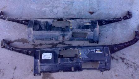 Фото - Верхняя накладка передней панели на  Skoda Fabia