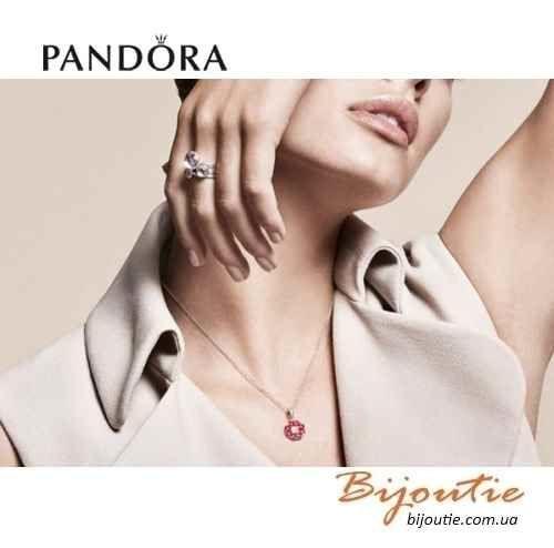 Фото 4 - Оригинал Pandora шарм Восточный Цветок 791829CZ серебро 925