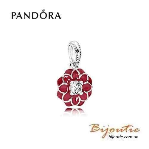 Фото - Оригинал Pandora шарм Восточный Цветок 791829CZ серебро 925