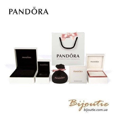 Фото 5 - Оригинал Pandora шарм Восточный Цветок 791829CZ серебро 925