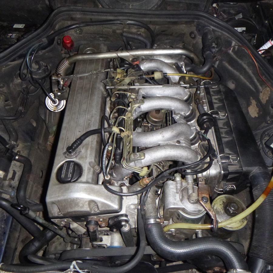 603 двигатель дизельный трёхлитровый мерседес
